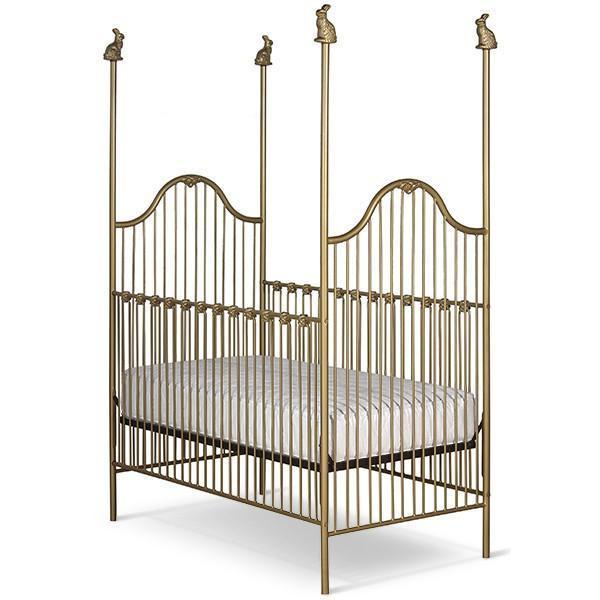 Corsican Iron Cribs 6950 | Stationary Four Post Crib-Cribs-Jack and Jill Boutique