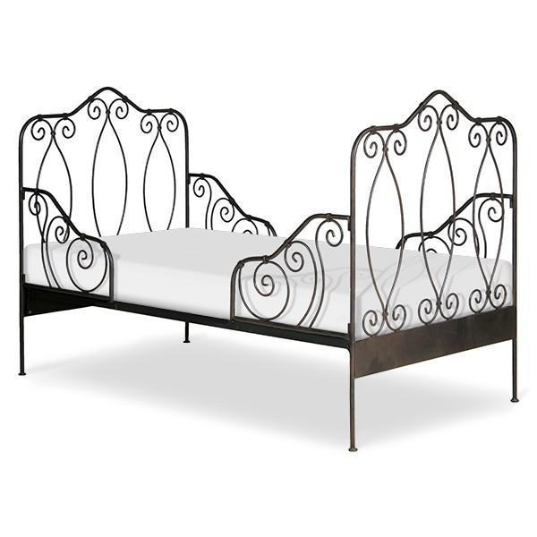 Corsican Iron Daybed 40202 | Daybed with Scrolls-Day Bed-Jack and Jill Boutique
