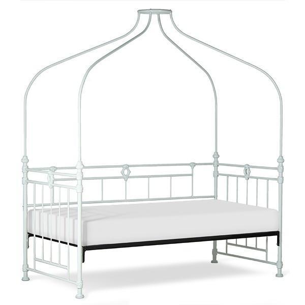 Corsican Iron Daybed 40726 | Canopy Daybed-Day Bed-Jack and Jill Boutique