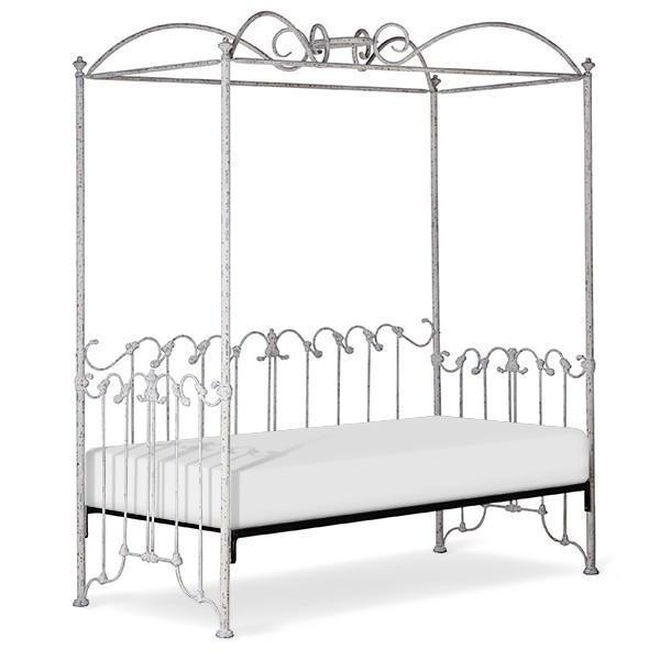 Corsican Iron Daybed 41968 | Double Canopy Daybed with Scrolls-Day Bed-Jack and Jill Boutique