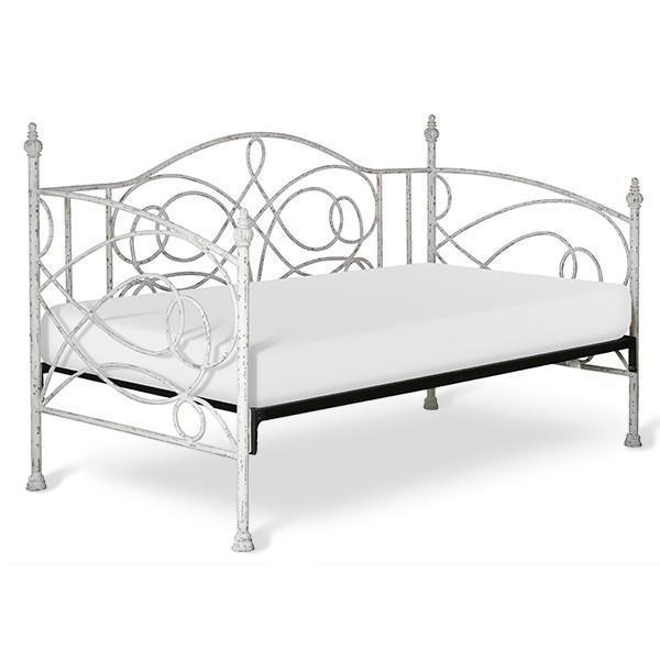Corsican Iron Daybed 42198 | Daybed with Scrolls-Day Bed-Jack and Jill Boutique