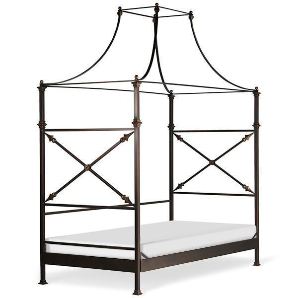 Corsican Iron Daybed 43644 | Double Canopy Daybed-Day Bed-Jack and Jill Boutique