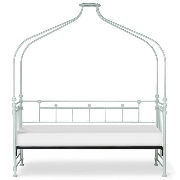 Corsican Iron Daybed 43738 | Canopy with Flowers-Day Bed-Jack and Jill Boutique