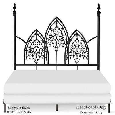 Corsican Iron Four Post Bed 42634 | Four Post Gothic Bed-Four Post Bed-Jack and Jill Boutique