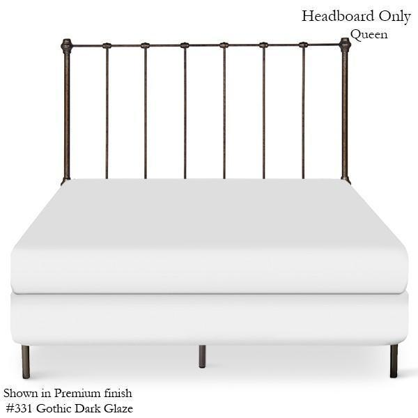 Corsican Iron Headboard 43172 | Headboard Only-Headboard-Jack and Jill Boutique