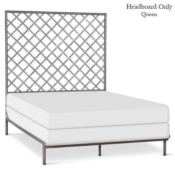 Corsican Iron Headboard 43460 | Headboard Only with Lattice-Headboard-Jack and Jill Boutique