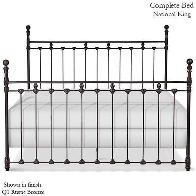 Corsican Iron Standard Bed 1281 | Standard Wrap Around Bed-Standard Bed-Jack and Jill Boutique