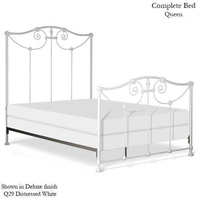 Corsican Iron Standard Bed 1642 | Standard Lillian Bed-Standard Bed-Jack and Jill Boutique