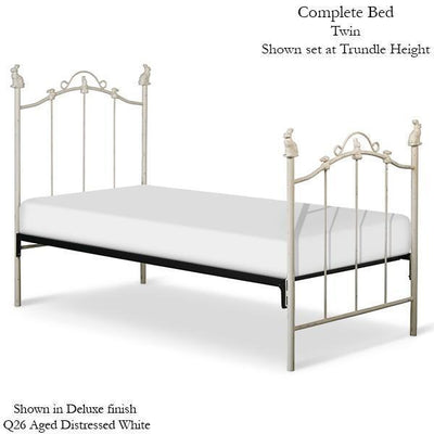 Corsican Iron Standard Bed 1828 | Standard Bed with Bunnies-Standard Bed-Jack and Jill Boutique
