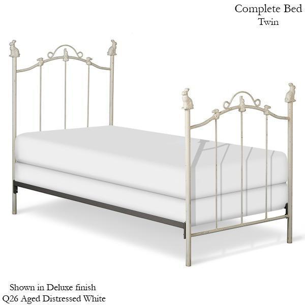 Corsican Iron Standard Bed 1828 | Standard Bed with Bunnies