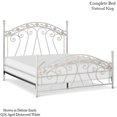 Corsican Iron Standard Bed 40000 | Standard Bed-Standard Bed-Jack and Jill Boutique