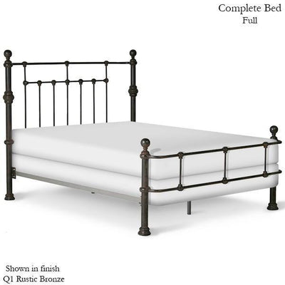 Corsican Iron Standard Bed 40172 | Wrap Around Mendocino Bed-Standard Bed-Jack and Jill Boutique