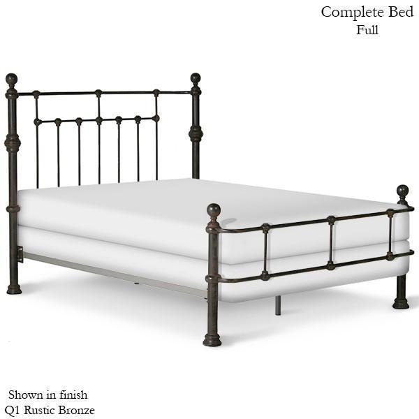 Corsican Iron Standard Bed 40172 | Wrap Around Mendocino Bed