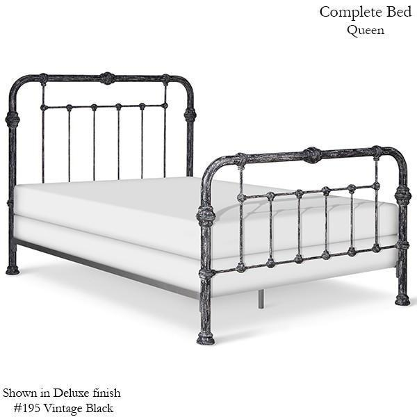 Corsican Iron Standard Bed 40372 | Standard Bed-Standard Bed-Jack and Jill Boutique
