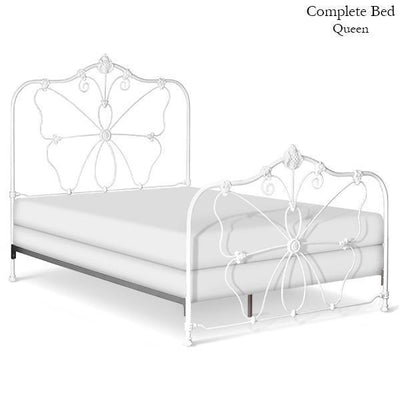 Corsican Iron Standard Bed 40656 | Standard Butterfly Bed-Standard Bed-Jack and Jill Boutique