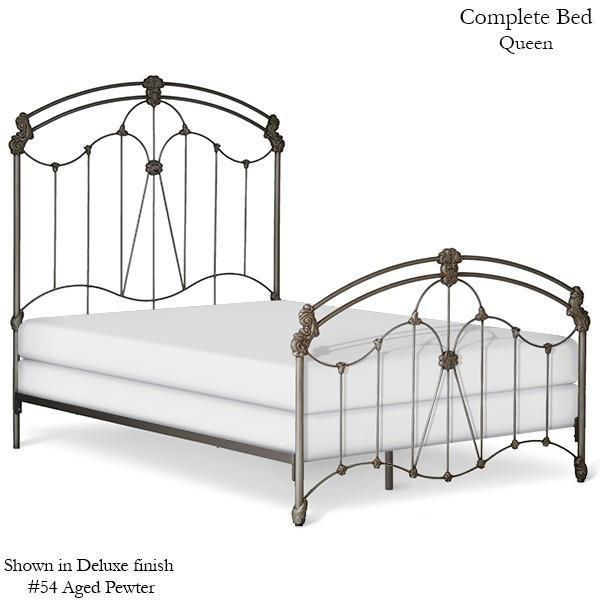 Corsican Iron Standard Bed 40790 | Standard Bed-Standard Bed-Jack and Jill Boutique