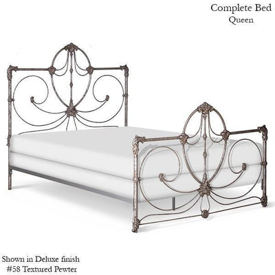 Corsican Iron Standard Bed 41766 | Standard Bed with Scrolls-Standard Bed-Jack and Jill Boutique