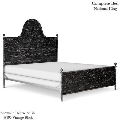 Corsican Iron Standard Bed 42374 | Standard Camel Hump Metal Panel Bed-Standard Bed-Jack and Jill Boutique
