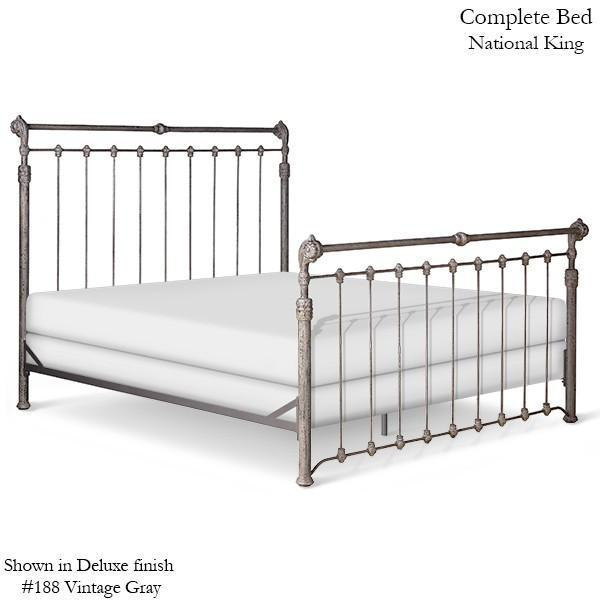 Corsican Iron Standard Bed 42688 | Standard Sleigh Bed-Standard Bed-Jack and Jill Boutique