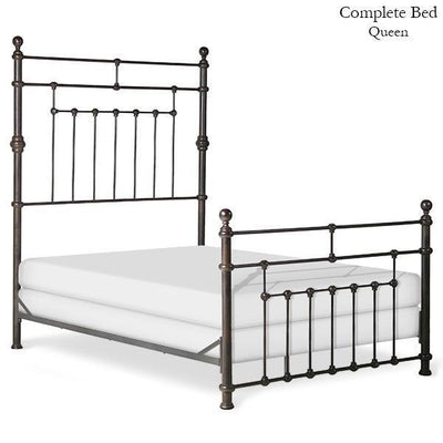 Corsican Iron Standard Bed 42922 | Standard Mendocino Bed-Standard Bed-Jack and Jill Boutique