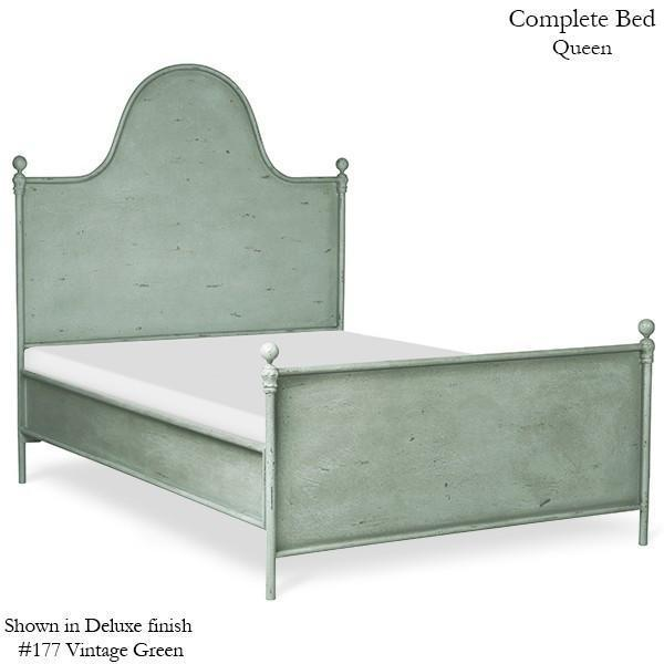 Corsican Iron Standard Bed 43162 | Standard Camel Hump Metal Panel Bed