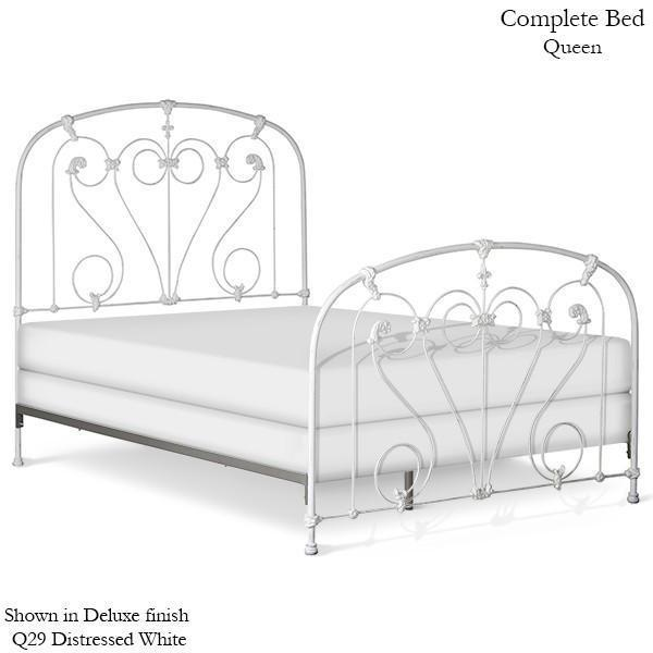 Corsican Iron Standard Bed 43362 | Standard Bed with Scrolls