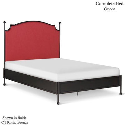 Corsican Iron Standard Bed 43672 | Upholstered Olivia Standard Bed-Standard Bed-Jack and Jill Boutique