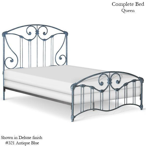 Corsican Iron Standard Bed 43710 | Standard Bed-Standard Bed-Jack and Jill Boutique