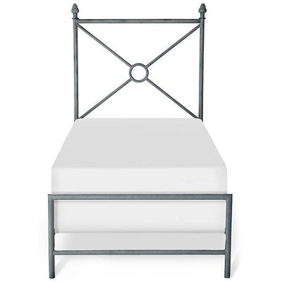 Corsican Iron Standard Bed 43722 | Rio Circle Standard Bed-Standard Bed-Jack and Jill Boutique