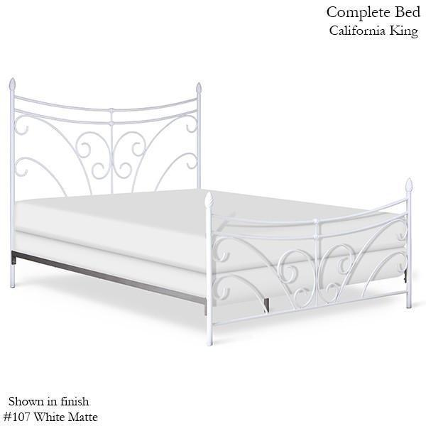 Corsican Iron Standard Bed 43776 | Standard Bed with Scrolls-Standard Bed-Jack and Jill Boutique