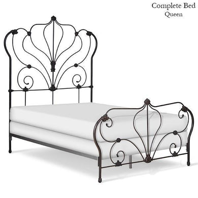 Corsican Iron Standard Bed 5040 | Standard Pagoda Bed