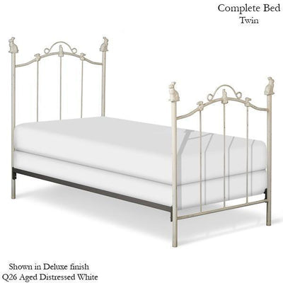 Corsican Iron Youth Beds 1828 | Standard Bed with Bunnies-Youth Beds-Jack and Jill Boutique