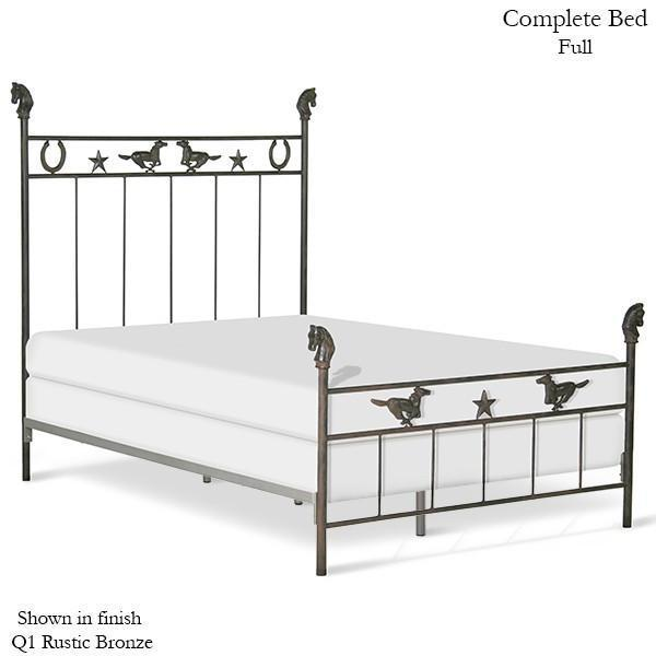 Corsican Iron Youth Beds 6084 | Standard Bed