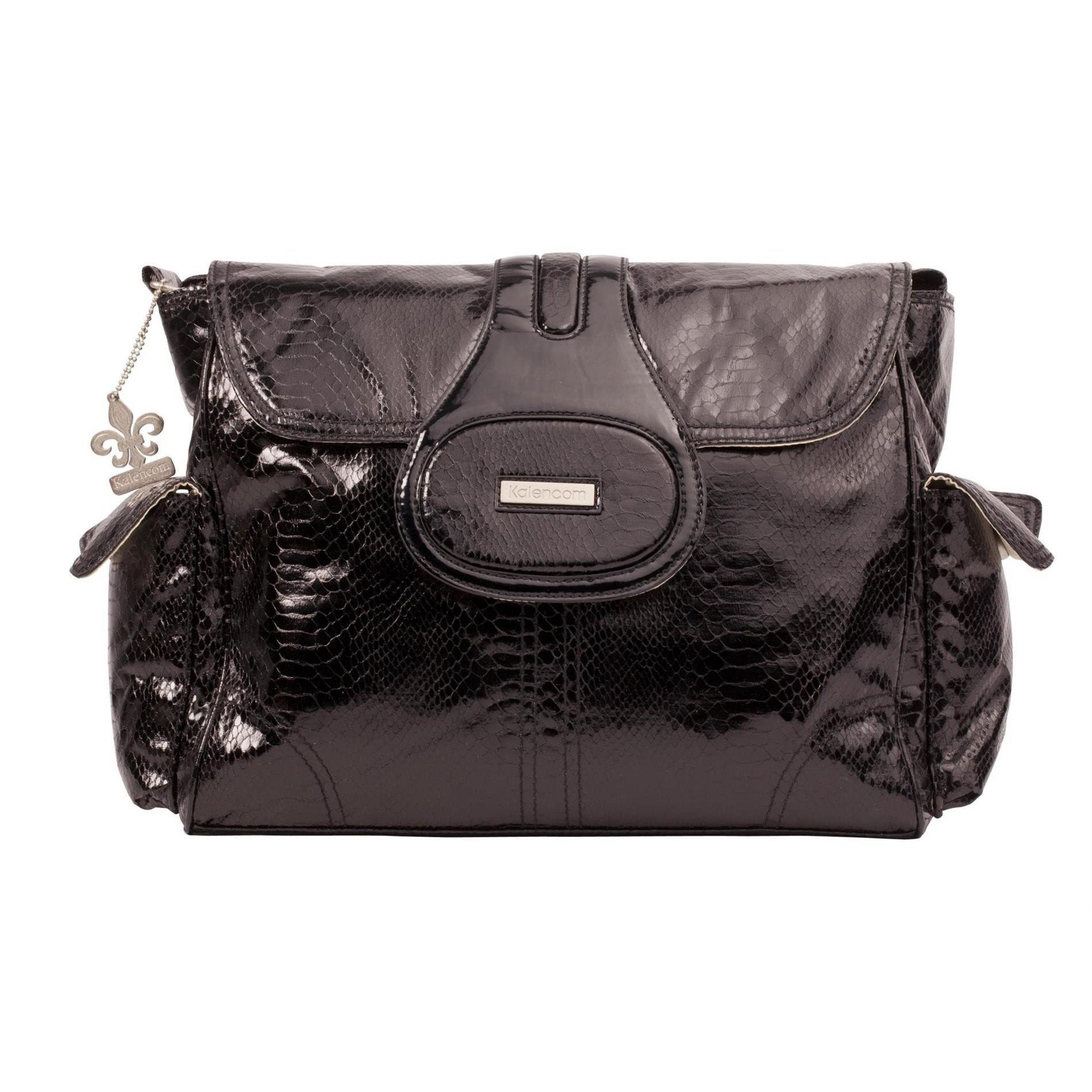 Cosmopolitan Black Elite Diaper Bag | Style 2975 - Kalencom-Diaper Bags-Default-Jack and Jill Boutique