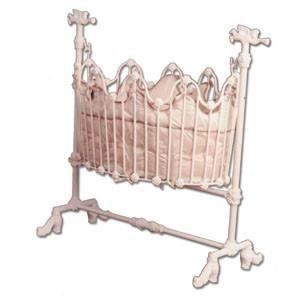 Cradle with Trumpet-Crib-Default-Jack and Jill Boutique