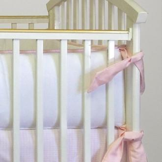 Crib Bumper | Ava Luxury Baby Bedding Set-Bumper-Jack and Jill Boutique