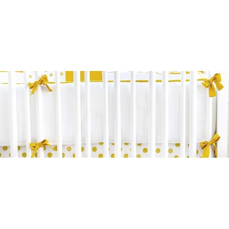 Crib Bumper | Gold Burst
