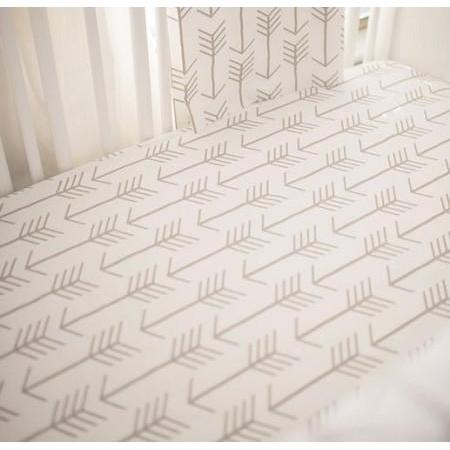 Crib Rail Cover | Arrow Be Brave-Crib Rail Cover-Jack and Jill Boutique