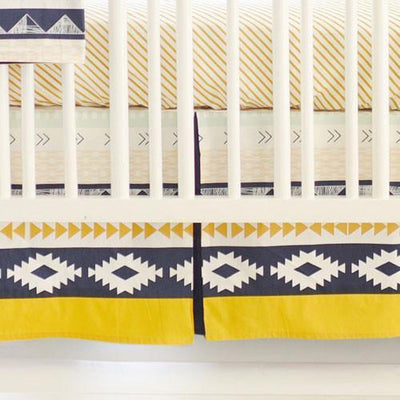 Crib Rail Cover | Aztec Arid Horizon-Crib Rail Cover-Jack and Jill Boutique