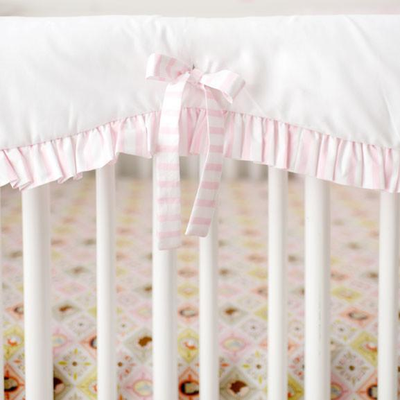 Crib Rail Cover | Born Wild in Pink-Crib Rail Cover-Jack and Jill Boutique