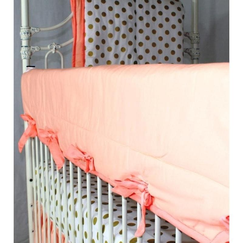 Crib Rail Cover | Coral Sunset-Crib Rail Cover-Jack and Jill Boutique