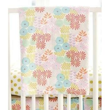 Crib Rail Cover | Floral Glitz Garden-Crib Rail Cover-Jack and Jill Boutique