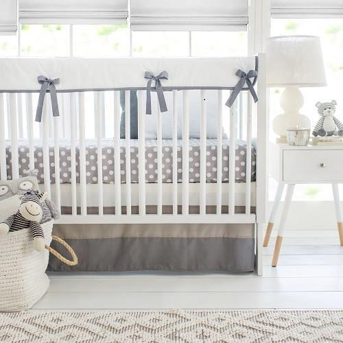 Crib Rail Cover | Grey Ombre-Crib Rail Cover-Jack and Jill Boutique