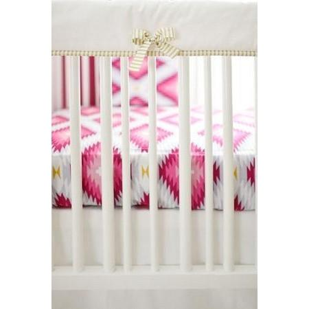 Crib Rail Cover | Wander in Pink-Crib Rail Cover-Jack and Jill Boutique