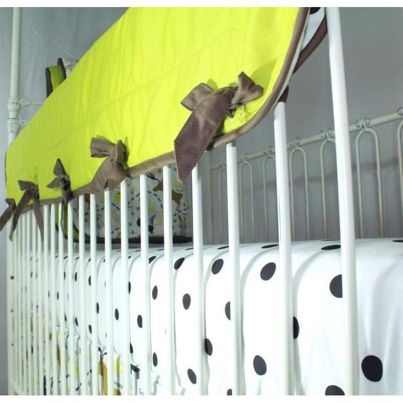 Crib Rail Cover | Woodland Animals-Crib Rail Cover-Jack and Jill Boutique