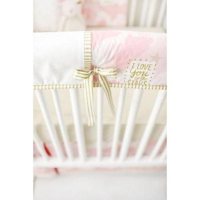 Crib Rail Cover | You Are Magic in Pink-Crib Rail Cover-Jack and Jill Boutique