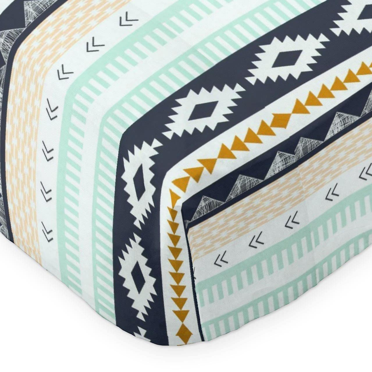 Crib Sheet | Aztec Arid Horizon Crib Baby Bedding Set-Crib Sheets-Bold Bedding-Jack and Jill Boutique