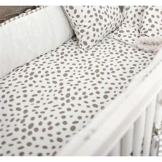 Crib Sheet | Dalmatian Spots-Crib Sheets-Default-Jack and Jill Boutique