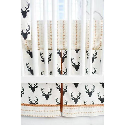 Crib Sheet | Deer Buck Forest in Night Crib Baby Bedding Set-Crib Sheets-Default-Jack and Jill Boutique