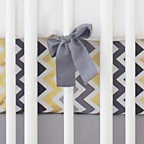 Crib Sheet | Golden Days in Gray Crib Baby Bedding Set-Crib Sheets-Default-Jack and Jill Boutique